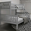 Thumbnail: Triple Bunk Bed Grey