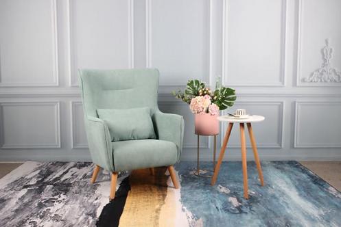 Megan Accent Chair - Mint