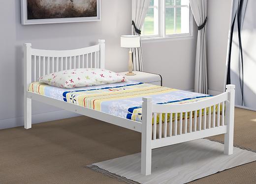 Jordan Bed Frame White