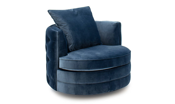 Jools Swivel Chair - Bleu