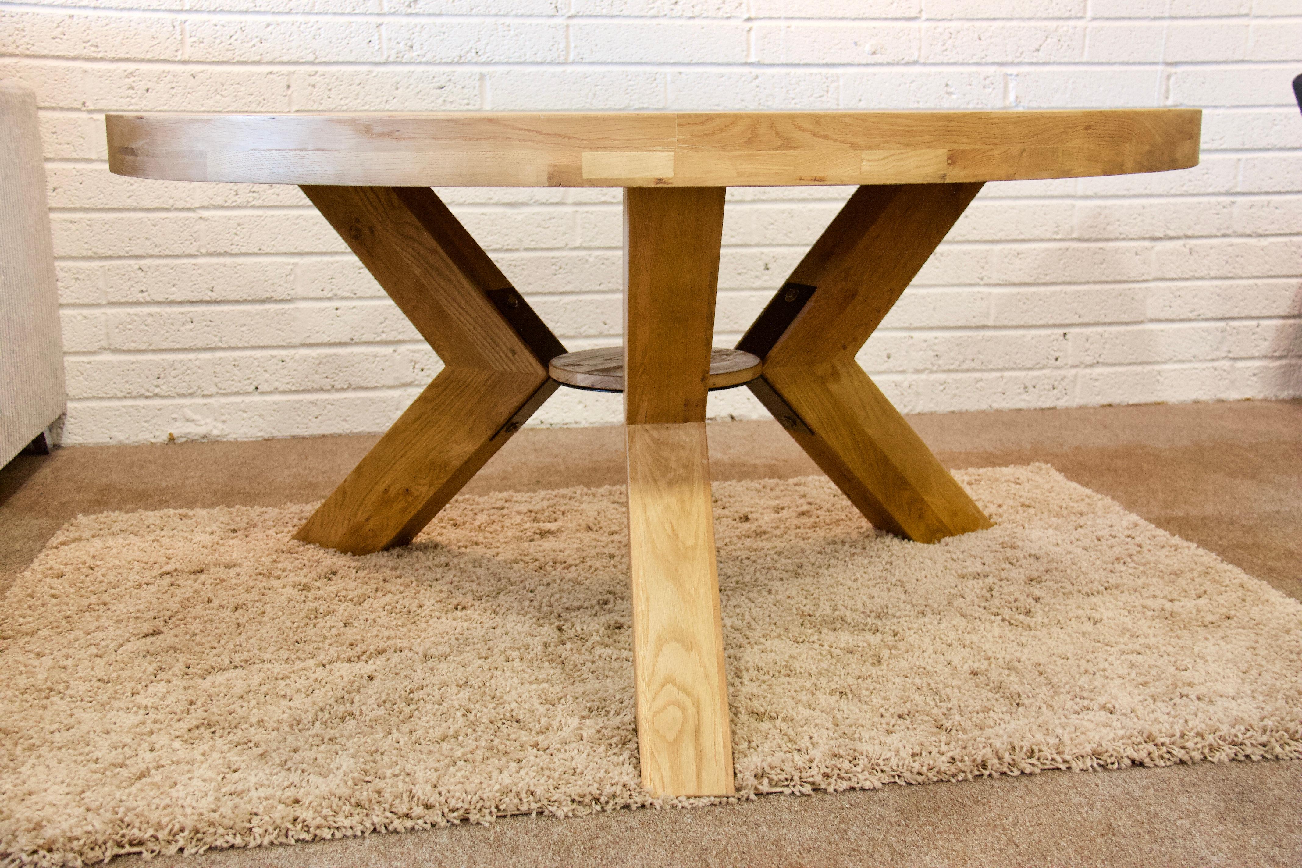 Maximus Round Dining Table Greenwood Furniture