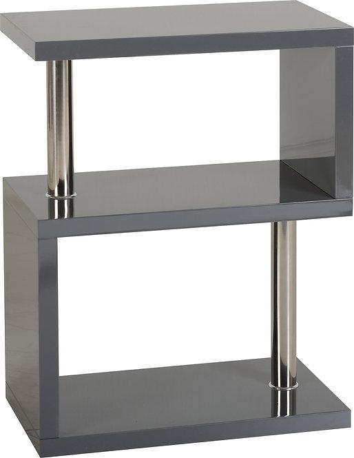Charisma 3 Shelf Unit - Grey