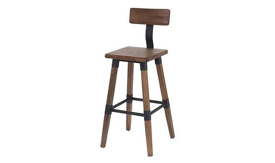 Hunter Bar Stool - Rustic
