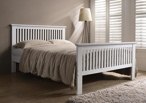 Denver 3FT White Bed Frame