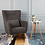 Thumbnail: Megan Accent Chair - Grey