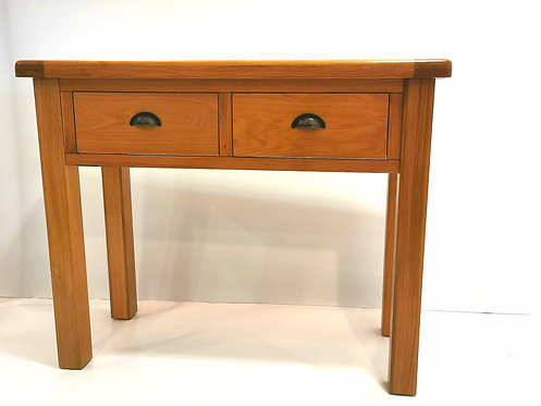 Cleveland 2 Drawer 1 Shelf Console Table