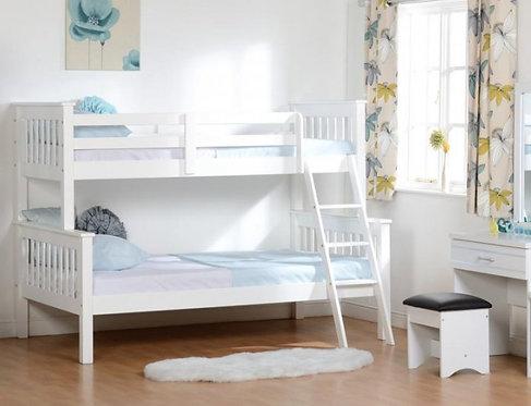 Neptune Triple Bunk Bed - White