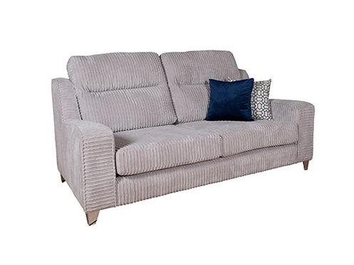 Salute Fabric 3 Seater Sofa