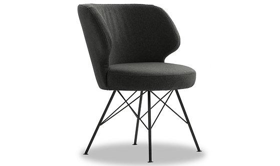 Erwan Accent Chair - Charcoal