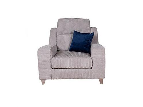 Salute Fabric Arm Chair
