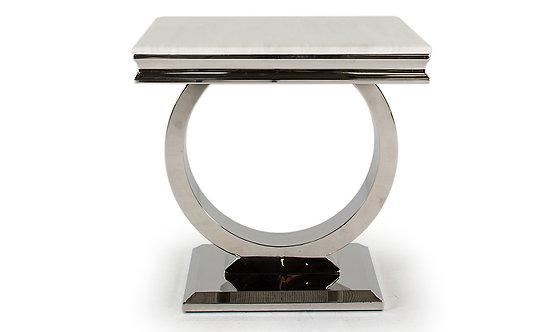 Arianna Cream Lamp Table