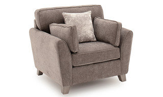 Cantrell 1 Seater – Silver