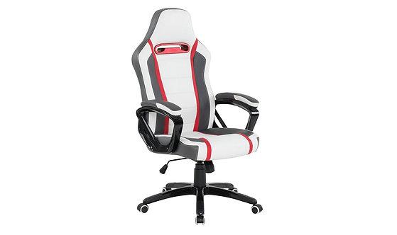 Landon Gaming Chair - White/Red