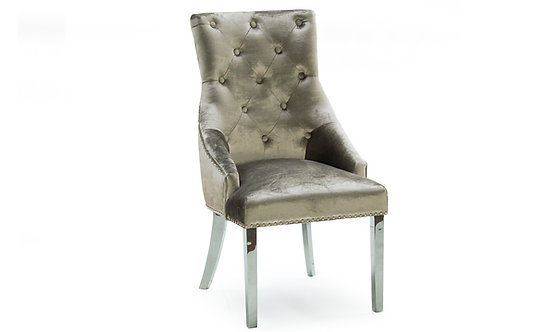 Belvedere Dining Chair - Champagne