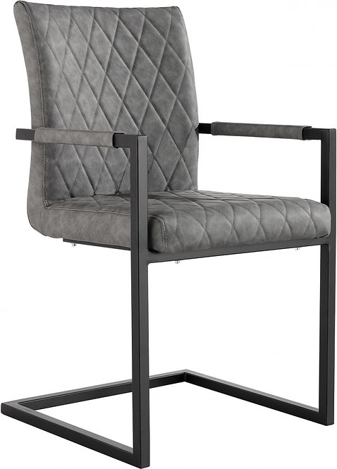 Chicago Diamond Stitch Carver Chair