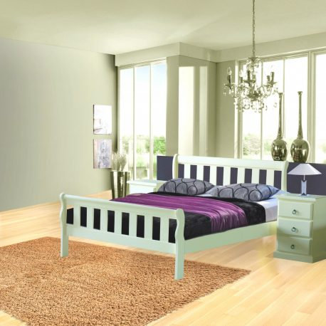 Olive Double Bed Frame