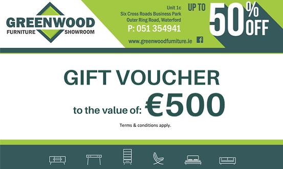 €500 Gift Voucher