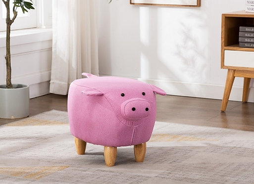 Percy Pig Footstool