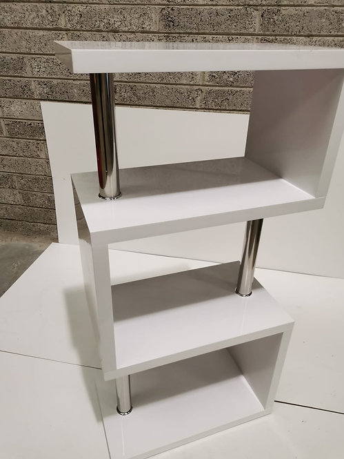 Charisma White 4 Shelf Unit