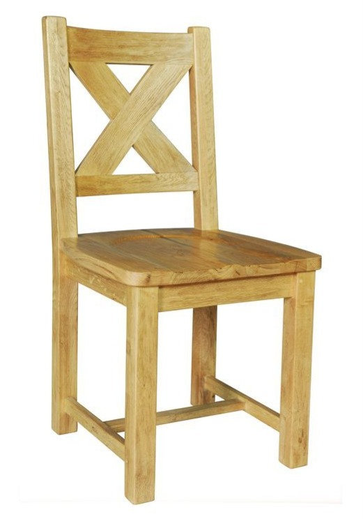 Maximus Solid Oak Dining Chair