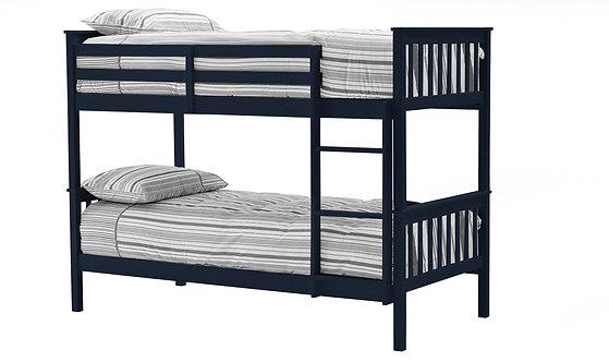 Salix Bunk Bed - 3FT Blue