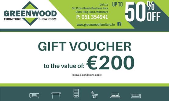 €200 Gift Voucher