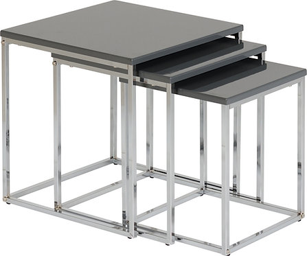 Charisma Nest of Tables - Grey