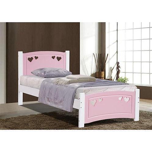 Vogue Kids Bed Frame Pink