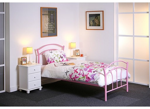 Amy Pink Bed Frame