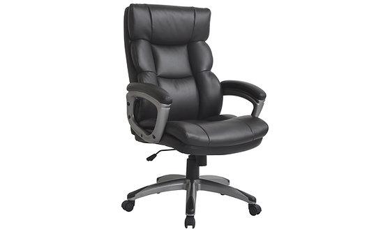 Director Office Chair - Dark Brown Pu