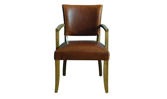 Duke Arm Chair - Tan Brown