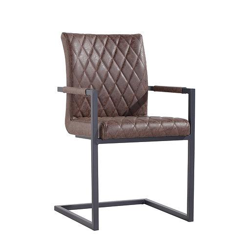 Chicago Diamond Stitch Carver Chair