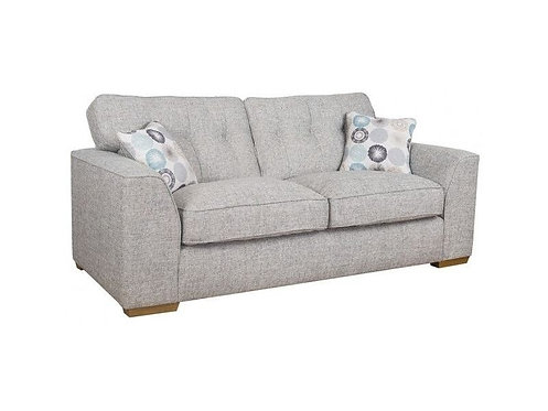 Kennedy 3 Seater Fabric Sofa