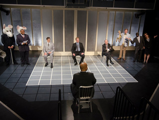 Review:  Enron, An Omaha Playhouse Production