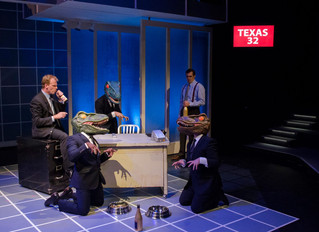 Review:  Compelling Drama, Quirky Presentation Are The Hallmarks of Playhouse's Enron