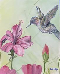 """""""HUMMINGBIRD IN FLIGHT"""""""