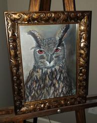 """""""METALLIC OWL"""""""