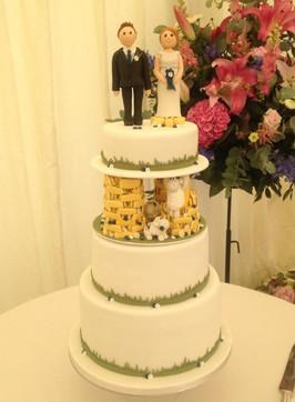 Sheep Wedding Cake
