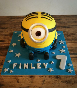 7th Birthday Minion Cake .JPG