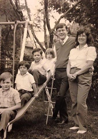 Hoak Family 1985