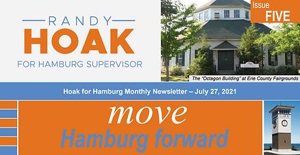 Hoak for Hamburg July Newsletter