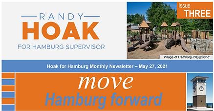 Move Hamburg Forward May Newsletter