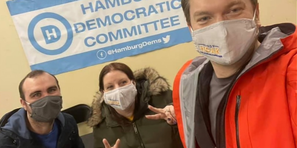 Petition Signing Event at Hamburg Democratic Headquarters