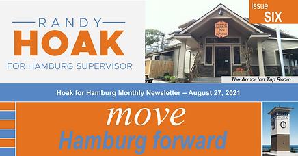 Hoak for Hamburg August Newsletter