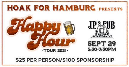 Next Stop on the Happy Hour Tour!