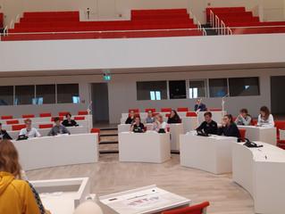 Besuch des Landtages in Potsdam