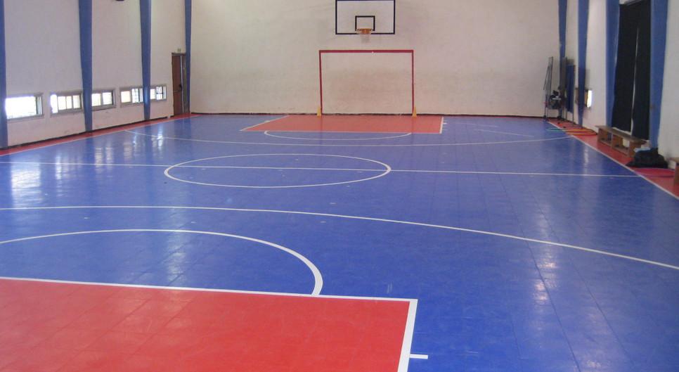 רצפת פלסטיק אולם ספורט נס ציונה