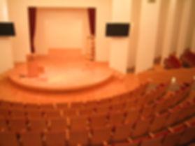 רצפת פרקט בוק לבמת מופעים והרצאות