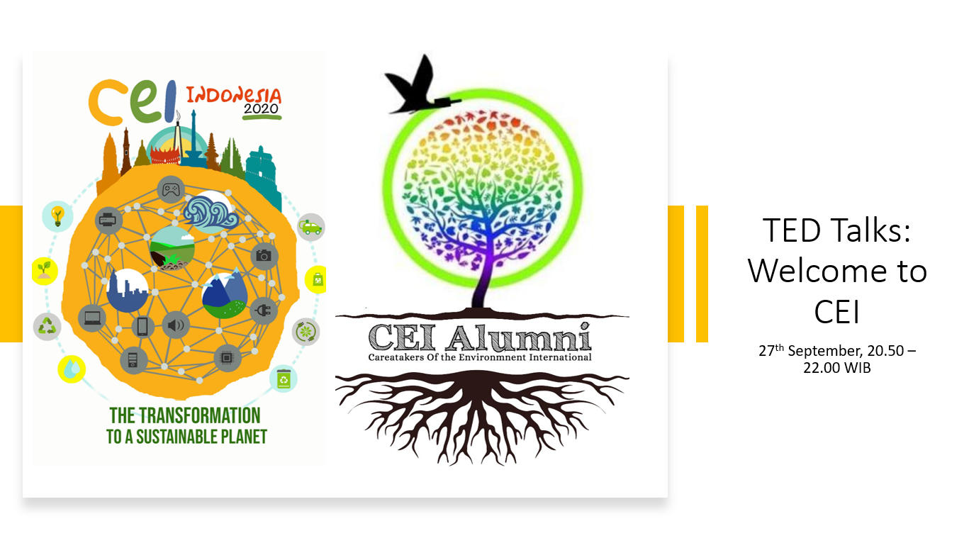 CEI Talks: Welcome to CEI