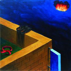 불은컨테이너 그리고 구두 그리고 빨간머리끈2